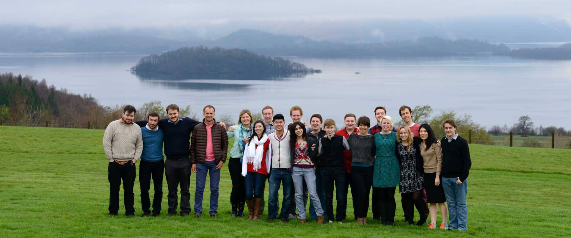 Group photo at POY Ardoch 2014, the final event in the first Naked Entrepreneur programme