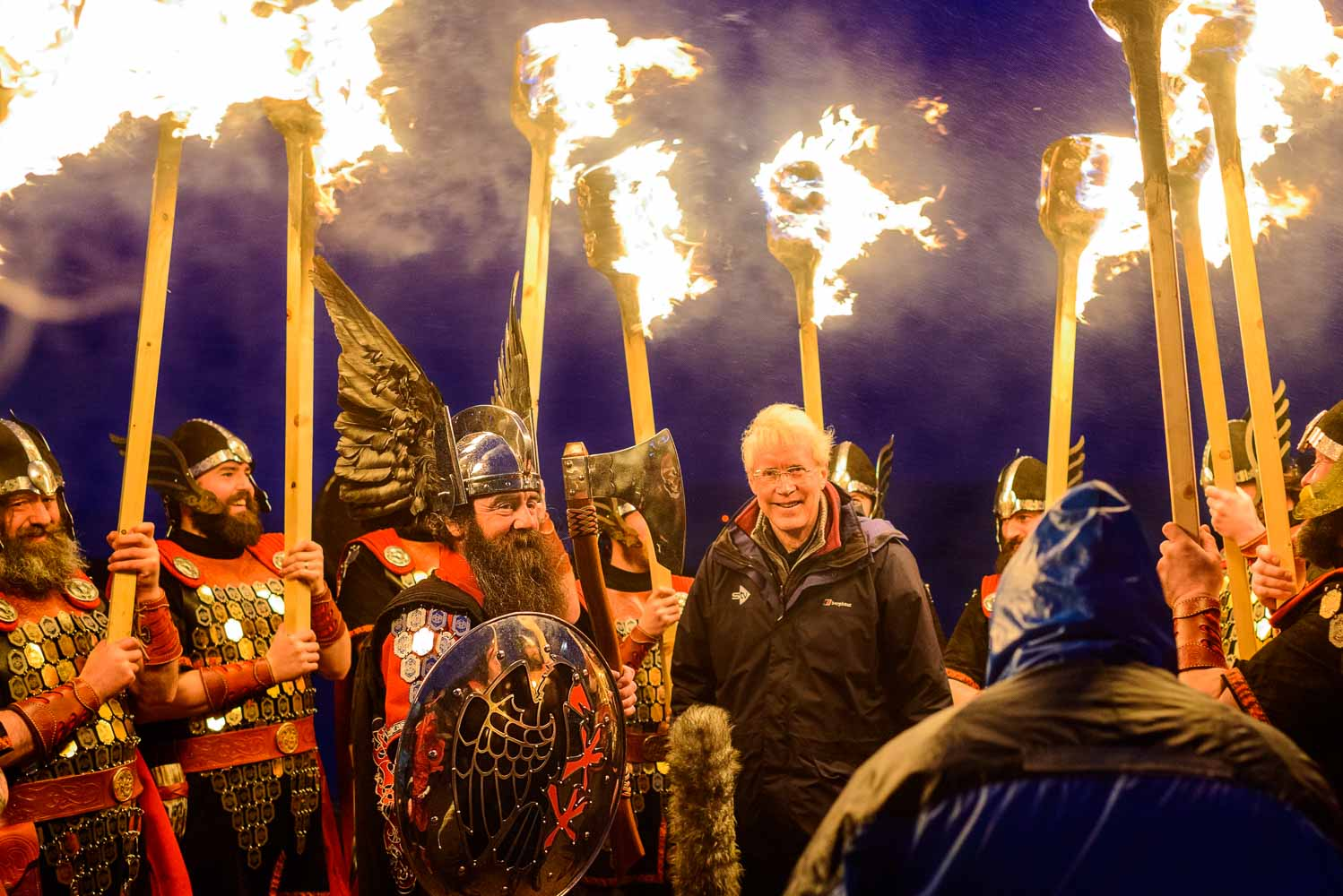 Events Photography by Iain Robinson. Up Helly Aa, Lerwick