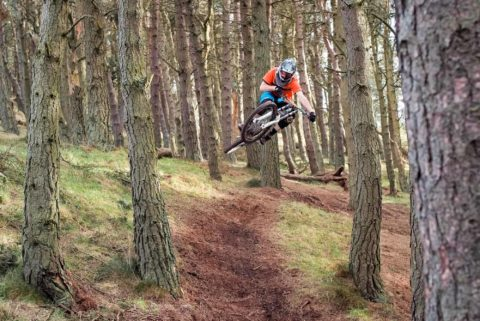 Keith Scott at Bonaly Trails